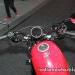 Honda Rebel 500 red handlebar at Thai Motor Expo