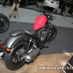 Honda Rebel 500 red rear three quarter at Thai Motor Expo