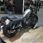 Honda Rebel 500 grey rear three quarter right at Thai Motor Expo