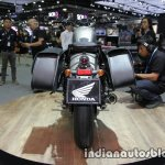 Honda Rebel 500 grey rear at Thai Motor Expo