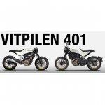 Husqvarna Vitpilen 401 concept vs. Husqvarna Vitpilen 401 production