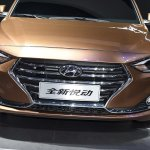 Hyundai Celesta sedan front China