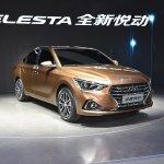 Hyundai Celesta sedan front quarter China