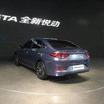Hyundai Celesta sedan rear quarter China