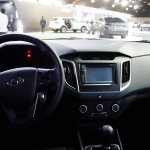Hyundai Creta interior at 2016 Bogota Auto Show
