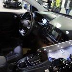 Hyundai Ioniq interior at 2016 Bogota Auto Show