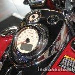 Indian Springfield instrumentation closeup