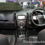 Isuzu MU-X interior dashboard at 2016 Thai Motor Expo