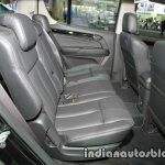 Isuzu MU-X rear seats at 2016 Thai Motor Expo