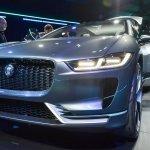 Jaguar i-Pace concept front quarter live image