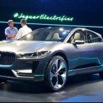 Jaguar i-Pace concept front three quarter live image
