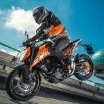 KTM Duke 200 orange