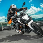 KTM Duke 250 front official image