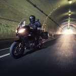 Kawasaki Versys 1000LT motion tunnel