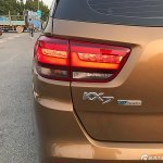 Kia KX7 left side tail lamp