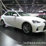 Lexus IS 300h front three quarters at 2016 Thai Motor Expo