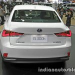 Lexus IS 300h rear at 2016 Thai Motor Expo