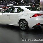Lexus IS 300h rear three quarters at 2016 Thai Motor Expo