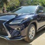 Lexus RX 450h front quarter spotted