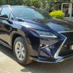 Lexus RX 450h front three quarter spotted