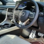 Lexus RX 450h interior spotted