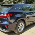 Lexus RX 450h rear three quarter spotted