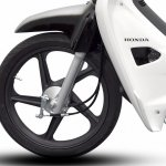 Limited Edition Honda EX5 Dream Fi front tubeless tyre