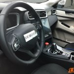 Lynk & Co CX11 interior spy shot