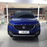 MG ZS front spied ahead of debut