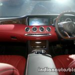 Mercedes S Class Cabriolet dashboard launched