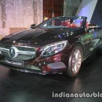 Mercedes S Class Cabriolet front quarter launched