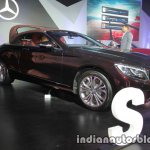 Mercedes S Class Cabriolet front three quarter launched