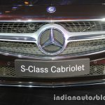 Mercedes S Class Cabriolet grille launched