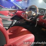 Mercedes S Class Cabriolet interior launched