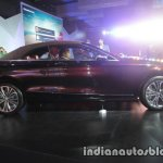 Mercedes S Class Cabriolet side with roof launched