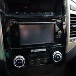 Mitsubishi Montero infotainment system at 2016 Bogota Auto Show