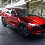 New Mazda CX-5 production starts in Japan