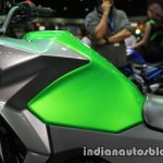 New Kawasaki Versys X300 fuel tank at Thai Motor Expo