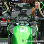 New Kawasaki Versys X300 handlebar at Thai Motor Expo