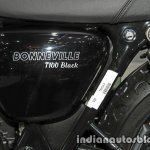 New Triumph T100 Black badging at Thai Motor Expo