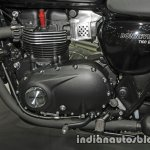 New Triumph T100 Black engine at Thai Motor Expo