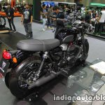 New Triumph T100 Black rear three quarter at Thai Motor Expo