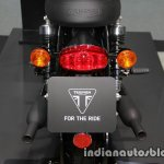 New Triumph T100 Black taillamp at Thai Motor Expo