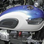 New Triumph T100 fuel tank at Thai Motor Expo
