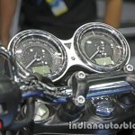 New Triumph T100 instrumentation at Thai Motor Expo