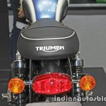 New Triumph T100 taillamp at Thai Motor Expo