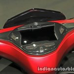 New Yamaha Aerox155 instrumentation at Thai Motor Expo
