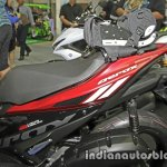 New Yamaha Aerox155 seat at Thai Motor Expo