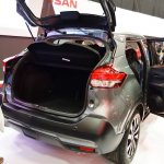 Nissan Kicks doors open at 2016 Bogota Auto Show