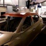 Nissan Kicks dual tone painting robots in Resende
